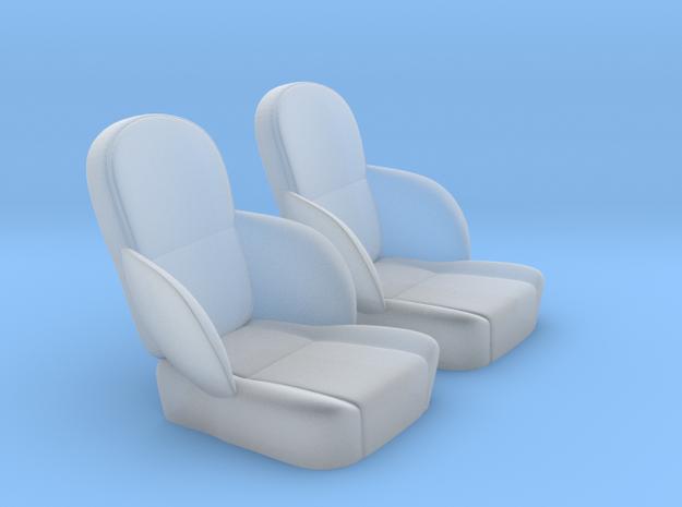 1/24 50s Sport Seat Pair 3d printed