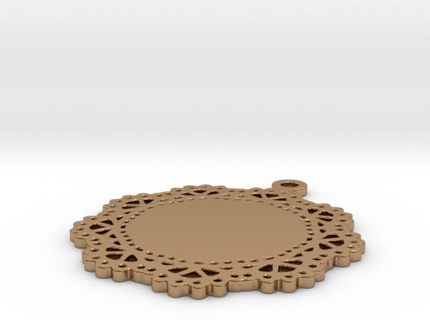 Design for pendant/earring - SK0030B 3d printed