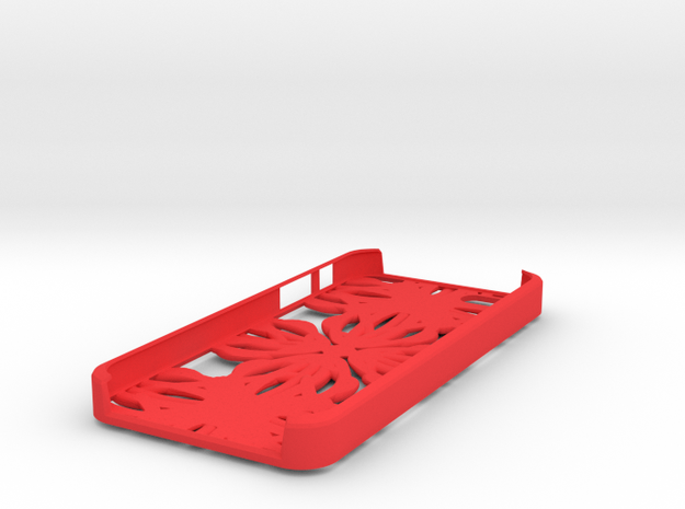 Fractal Iphone 5 Case 3d printed