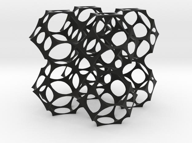 Foam skeleton 3d printed