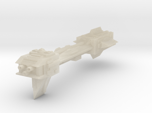 CCN Broadsword Destroyer in White Acrylic