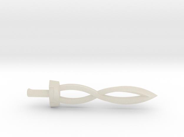 Deity Sword 3d printed