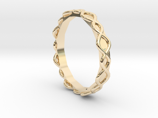 Lucid Ring - Sz. 6 in 14K Yellow Gold