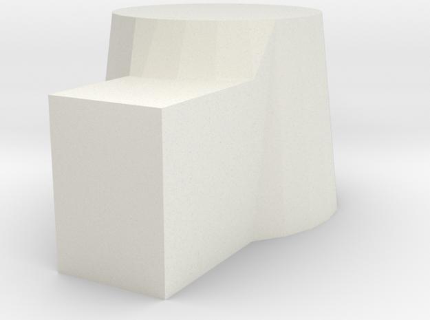Bergmann MP 18-1  Drum Mag in White Natural Versatile Plastic