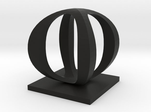 Two way letter / initial O&O 3d printed