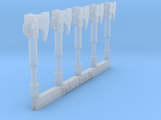Techno-Axe Sprue (5) in Smooth Fine Detail Plastic