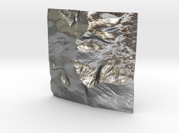 3'' Mt. Katahdin, Maine, USA, WSF 3d printed