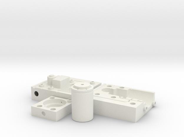 MouldToolHollow in White Natural Versatile Plastic