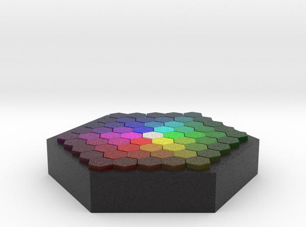 Color Wafer in Full Color Sandstone