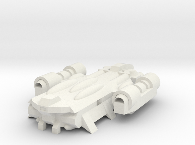 Carrier-Class Ship SMC-1173A in White Natural Versatile Plastic