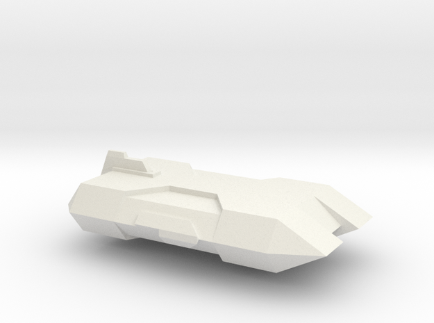 NTF Yorkshire Class Transport 1/7000 (TNG) 3d printed