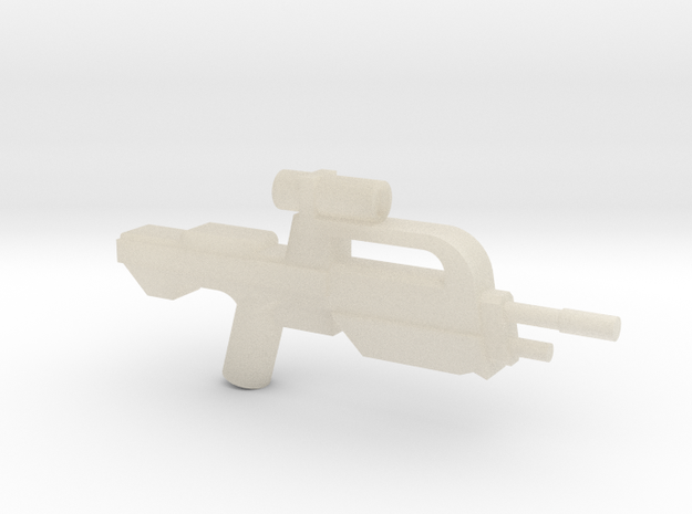 Battle Rifle 50 Model 3d printed