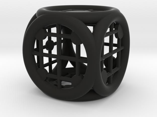 Circle Squared 3d printed