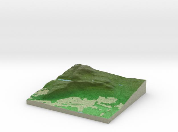 Terrafab generated model Sun Nov 17 2013 23:29:20 3d printed