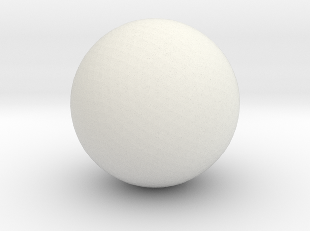 test ball tut1 3d printed