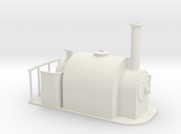 Gn15 large saddle tank  in White Strong & Flexible