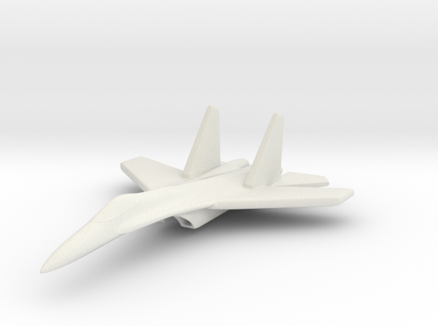 1/285 (6mm) SU-27 Flanker 3d printed