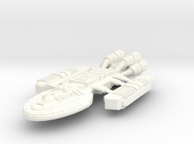 Battlestar Ramses 3d printed