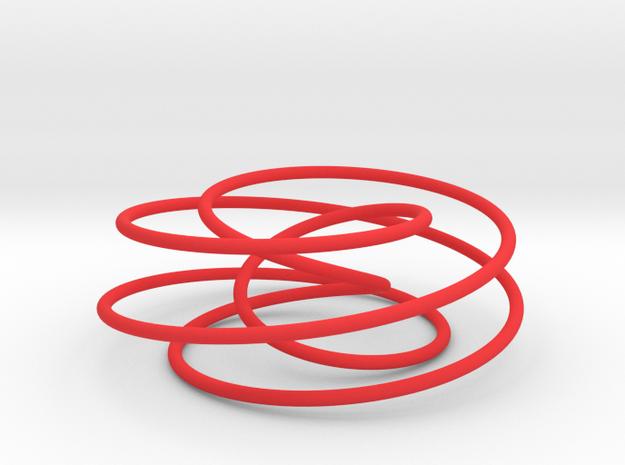 Cinquefoil Knot, 6cm thin version 3d printed