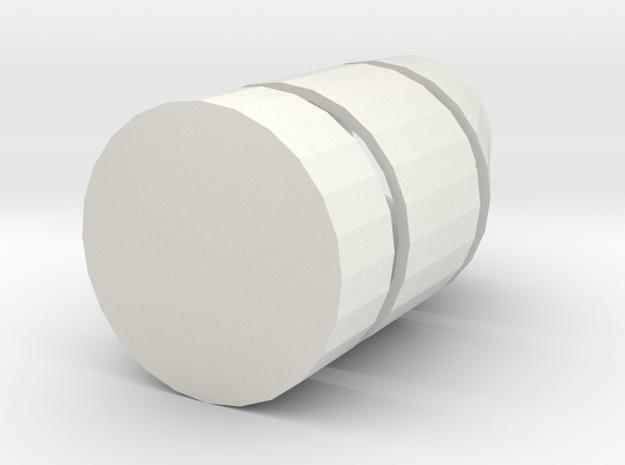 regard in White Natural Versatile Plastic
