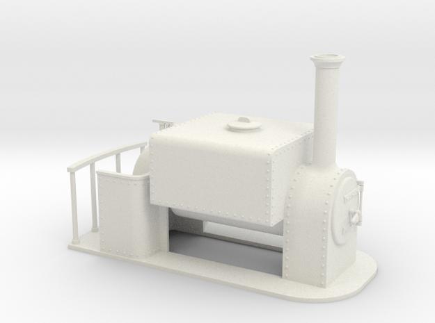 Gn15 Square saddle tank loco 3d printed
