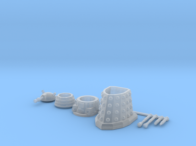 28mm Dalek Trooper Sprue in Frosted Ultra Detail