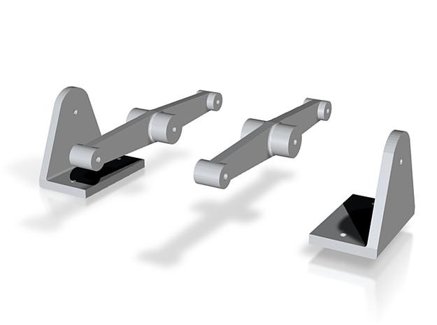 Ausgleichshebel für Drehgestelle Bauart Wismar IIf 3d printed