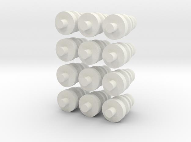 TeslaStandoffs 3d printed