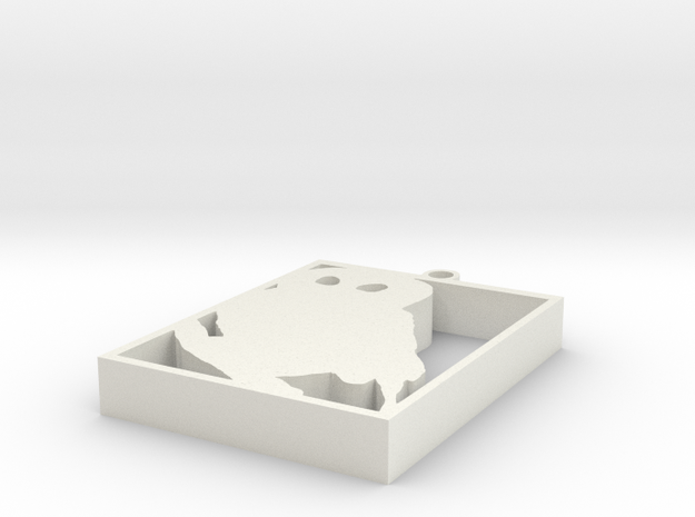 Owl Necklace V1.0 3d printed