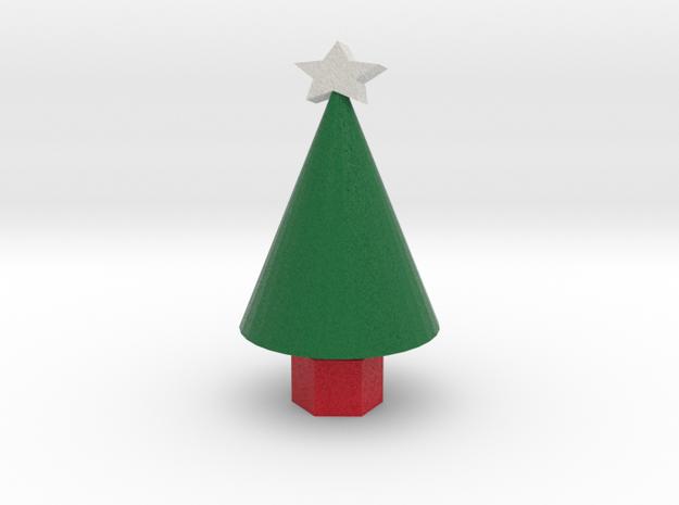 Xmas Tree small in Full Color Sandstone