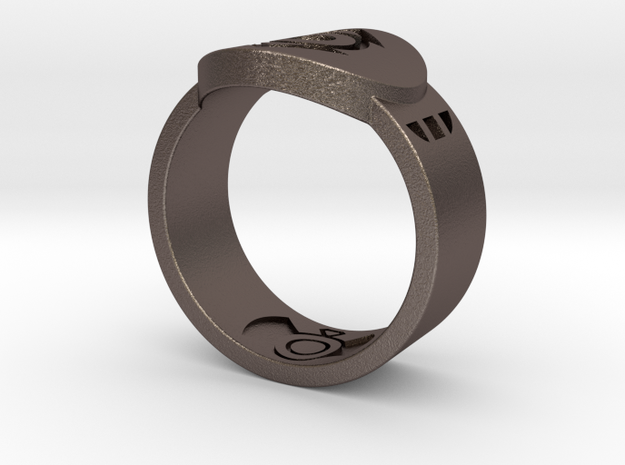 Indigo Tribe FF Ring Sz 15 3d printed