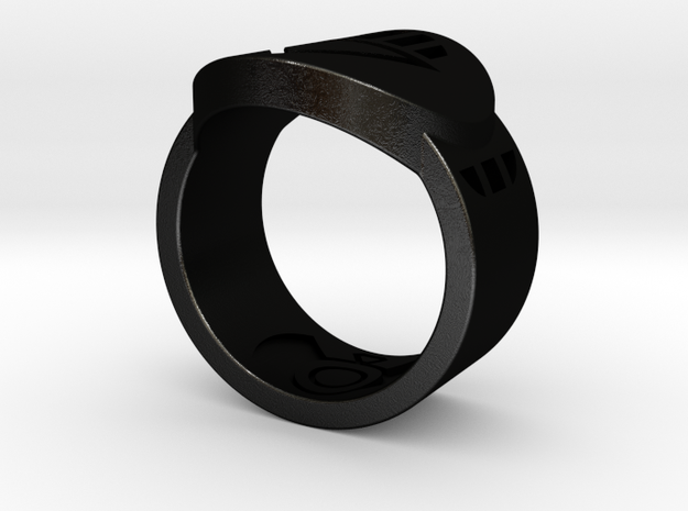 Death FF Ring 9 3d printed