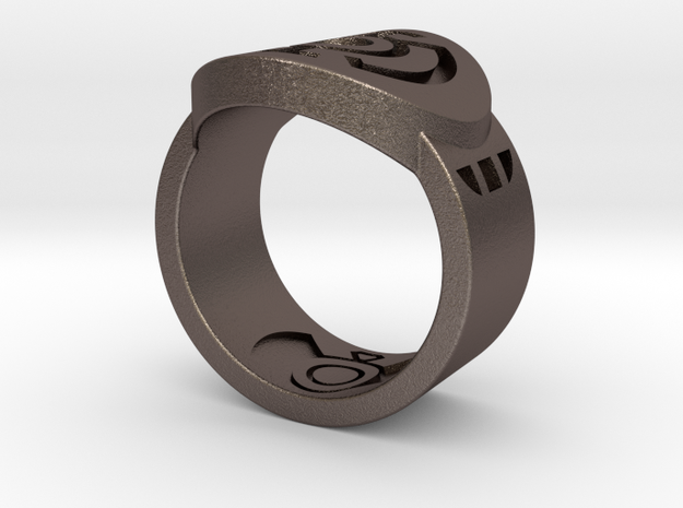Blue Hope FF Ring Sz 9 3d printed