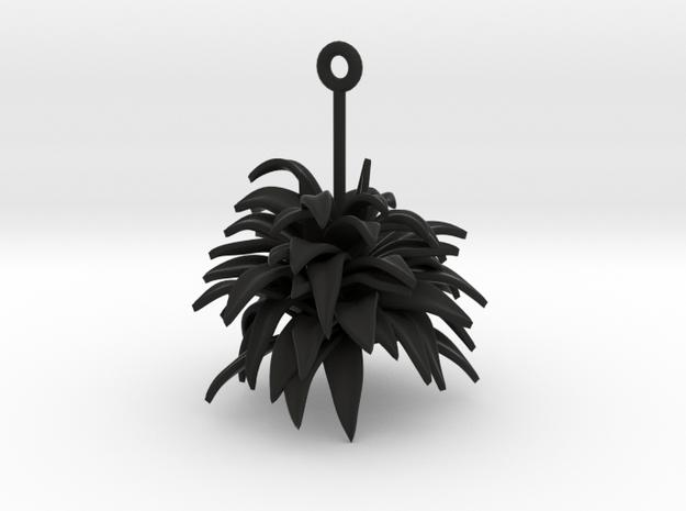 Earrings Plant 3d printed