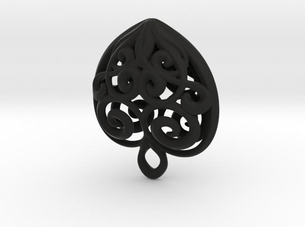 Heart-shaped Pendant 30mm 3d printed