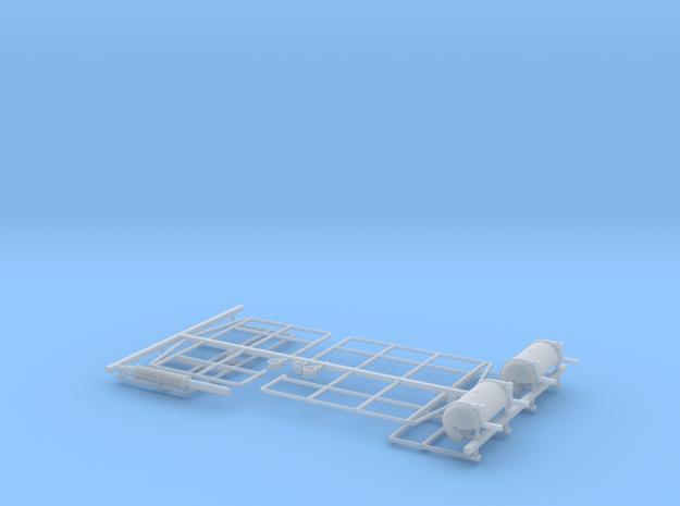 1:87 VR Tve 4 lisäosat in Smooth Fine Detail Plastic