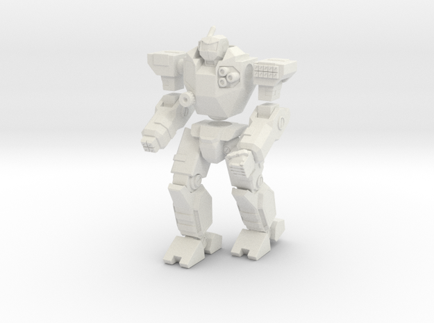 Mecha- Odyssey- Kreios (1/285th) Multi-Part in White Strong & Flexible