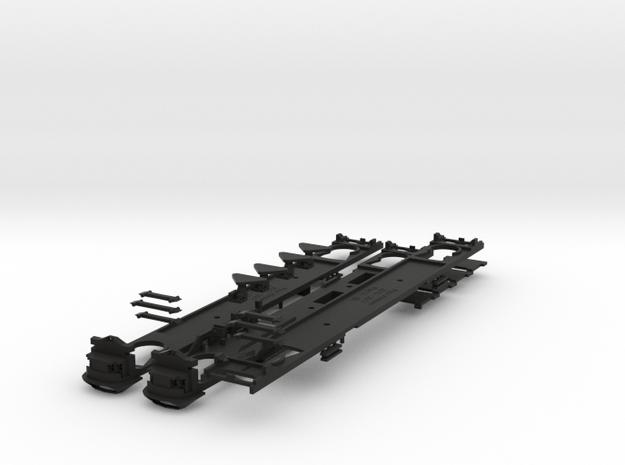 Plan U n-schaal (1:160) bodems zonder stoelen 3d printed
