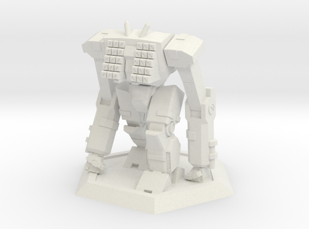 Mecha- Odyssey- Tethys (1/285th) in White Natural Versatile Plastic
