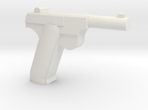 High Power HDM Pistol in White Strong & Flexible