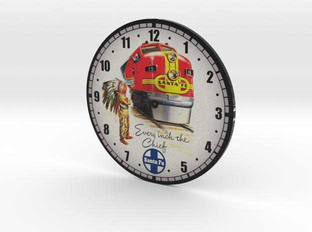 Clockface - Santa Fe in Full Color Sandstone