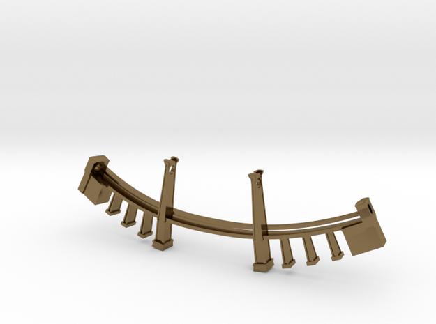 Williamsburg Bridge Necklace 3d printed