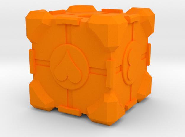 Companion Cube 3d printed