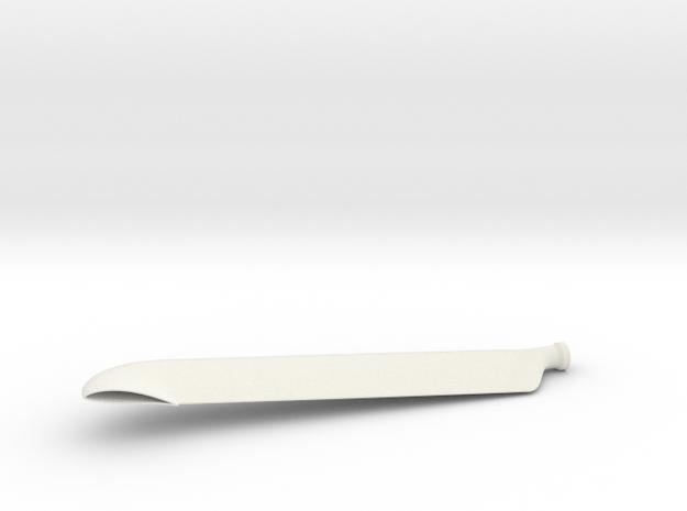 BC blade 3d printed