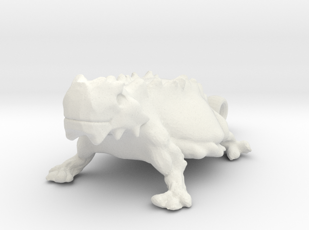 TEXAS Honed Frog 3d printed