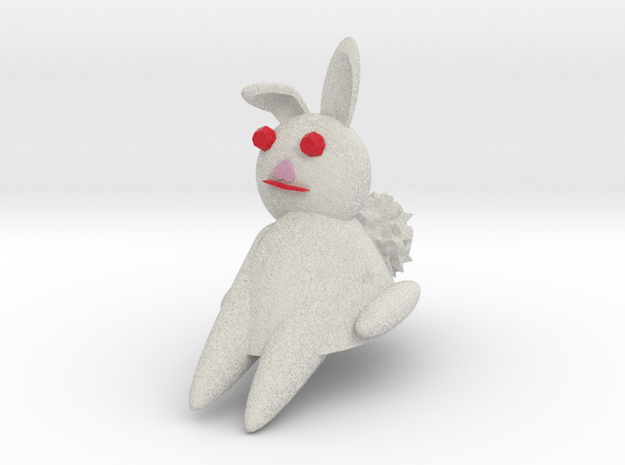 Bunny Rabbit Sitting 3d printed