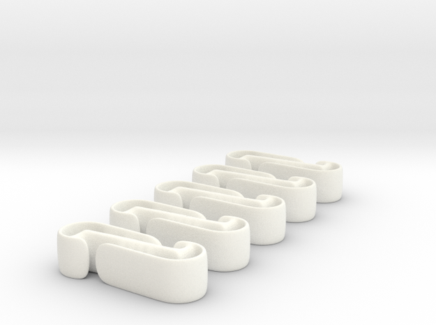 Active Clip (5 pack) 3d printed