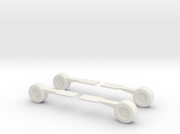 ACGM Air Car Ground Mode Wheels 3d printed