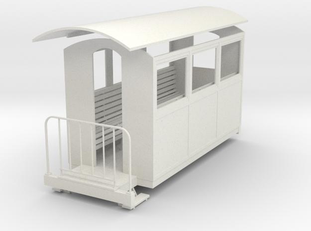 Gn15 closed coach 3 3d printed