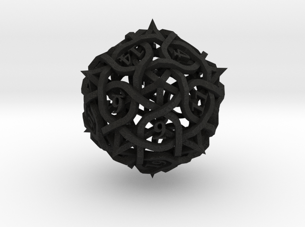 DoubleSize Thorn Die20 3d printed